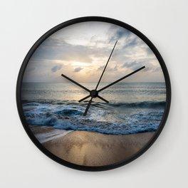 dawn on samui Wall Clock
