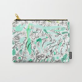 Sampaguita Carry-All Pouch