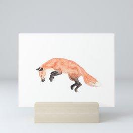 Les Animaux: Red Fox Mini Art Print