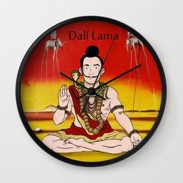 Dalí lama Wall Clock