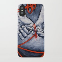 Red String iPhone Case