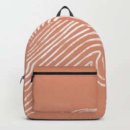Watching riding a wave - boho Backpack