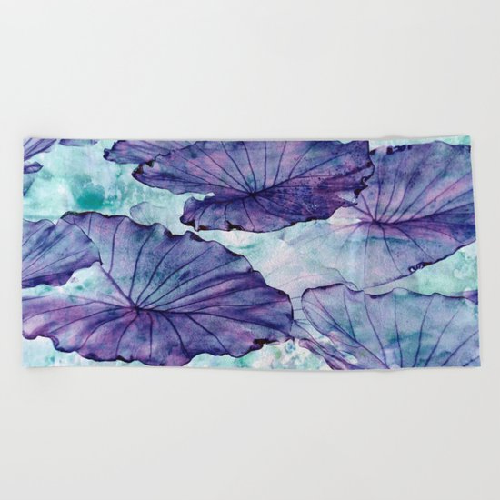 Botanical Surrealism #society6#decor #buyart Beach Towel