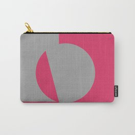 gray pink Carry-All Pouch