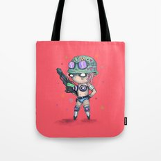 Tank Plush Tote Bag