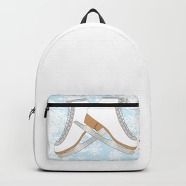 Ice skates Backpack