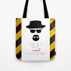 HEISENBERG BREAKING BAD Real Chemistry Tote Bag