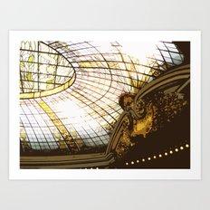 Beneath the Rotunda 2 Art Print