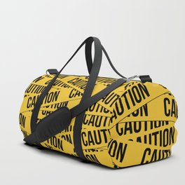 Caution Duffle Bag