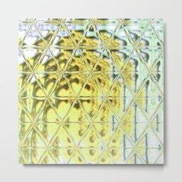 Triangle Glass Tiles 307 Metal Print