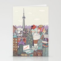 toronto Stationery Cards featuring Toronto by Ashley Ross
