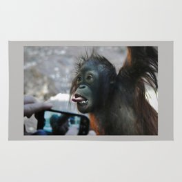 Baby Orangutan Rug