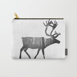 Moose Silhouette | Forest Photography Carry-All Pouch