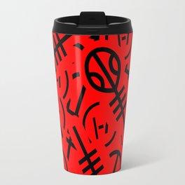 TØP Stickers - Red & Black Travel Mug