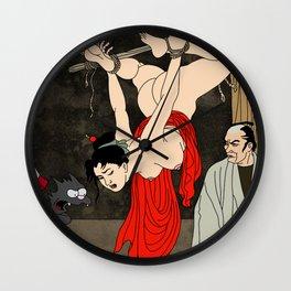 Hang me high Wall Clock