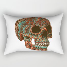 Ornate Skull (Color Version) Rectangular Pillow