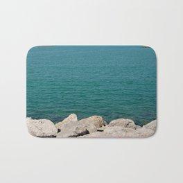 The calming beach view Bath Mat