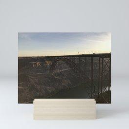 Perrine Bridge | Snake River Canyon, Idaho Mini Art Print