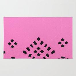 Pink Geo Rug