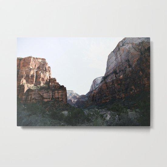 Zion National Park II Metal Print