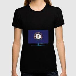Kentucky Flag TV T-shirt