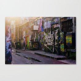 Graffiti Alley 2 Canvas Print