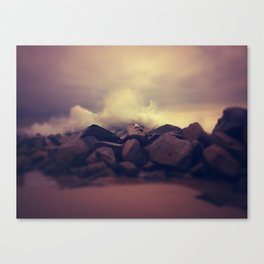Collision Canvas Print
