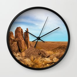 TriLithic Wall Clock