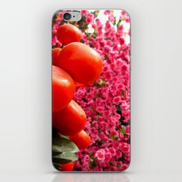 Orange Clementines and Pink Trees iPhone Skin