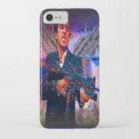scarface iPhone & iPod Cases featuring scarface by Vector Art