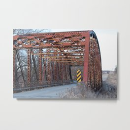 Old 73 Bridge Metal Print