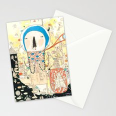 """""""My life is my message.""""  Stationery Cards"""