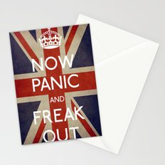 NOW PANIC AND FREAK OUT Stationery Cards