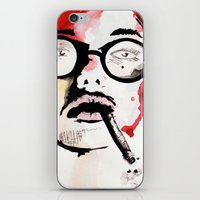 gemma iPhone & iPod Skins featuring Gemma. by Stephanie June Ellis