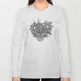 Face Flow Line Long Sleeve T-shirt