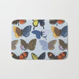 Gynandromorph Butterfly Bath Mat