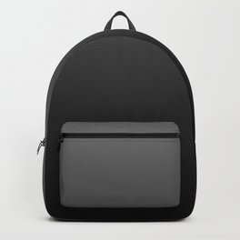 Ombre | Color Gradients | Gradient | Two Tone | Shades of Grey | Grey Black Ombre | Backpack