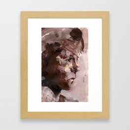 Pause Framed Art Print