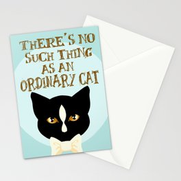 No Such Thing as an Ordinary Cat Stationery Cards