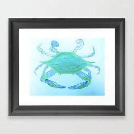 Chesapeake Blue Crab Framed Art Print