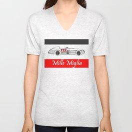 RennSport Speed Series: Mille Miglia Unisex V-Neck