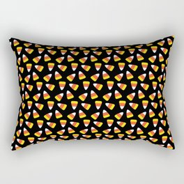 Candy Corn Pattern Rectangular Pillow
