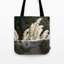 Flowering Pampas Grass Plumes Tote Bag