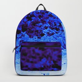 Indigo Blue Ombre Crystals Backpack