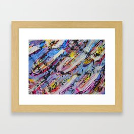 Gravitational Pull Framed Art Print