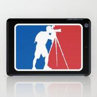 league iPad Cases featuring Landscape League by Preston Lee Design