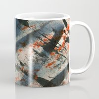 wave Mugs featuring Wave  by Peter Coleman