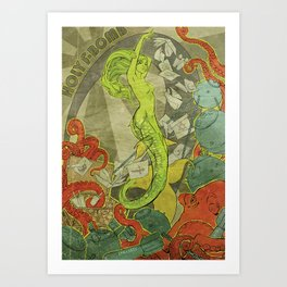 Holy F-Bomb Art Print