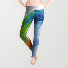 Magical Rainbow Unicorn Leggings
