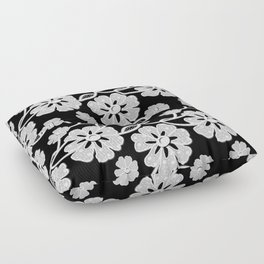 50's Lace Floor Pillow